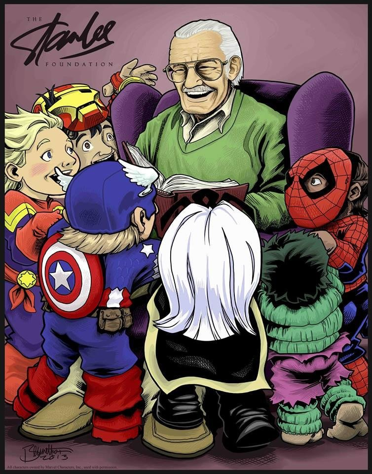Photo - A Stan Lee Foundation print by Jerry Bennett. [photo provided]