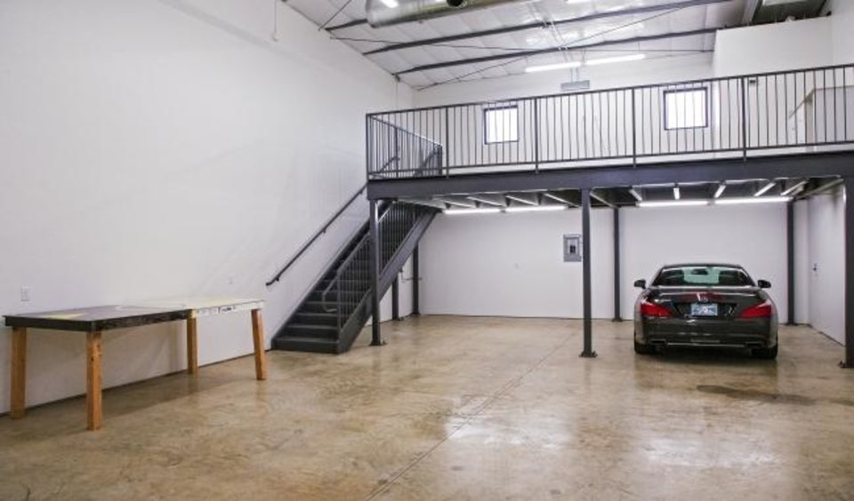 Photo -  The inside of a garage condo unit at 807 NW 72 in  Wilshire Point. [CHRIS LANDSBERGER/THE OKLAHOMAN]