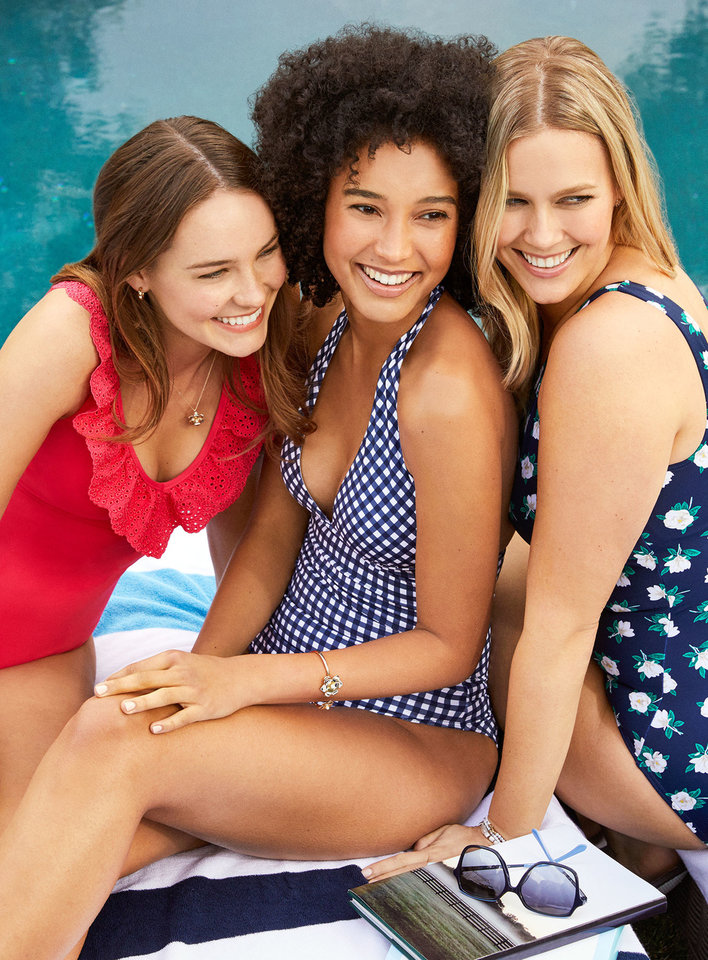 Photo - A swimwear and accessories collection from Draper James x Lands' End.