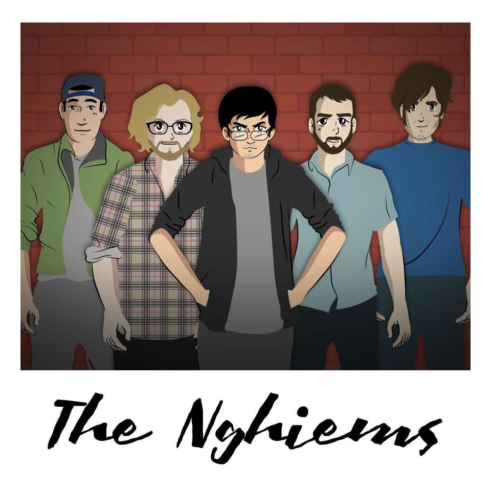 Photo - From left, The Nghiems live concert lineup is David Nghiem, Dylan Eubanks, James Nghiem, Mike Allen and Derek Moore. [Image provided]