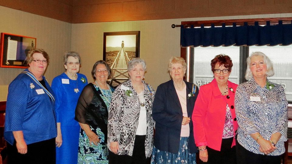 Photo - Sue Allen, Sarah Pool, Pam Bias, Libby Hays, Chris McCurtain, Norma Barbour, Gina McCasland. PHOTO PROVIDED