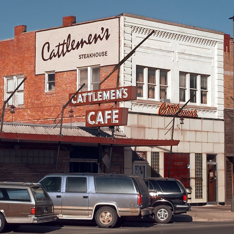 Photo - Cattleman's Steakhouse in the Stockyards district.