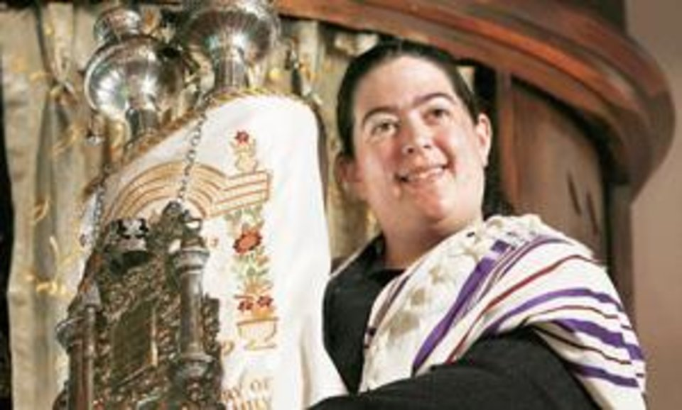 Photo - Rabbi Abby Jacobson is the new rabbi at Emanuel  Synagogue. Photo by Jim Beckel, The Oklahoman