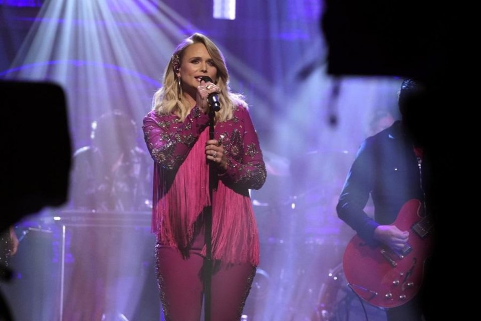 Photo - Musical guest Miranda Lambert performs on October 31, 2019, on
