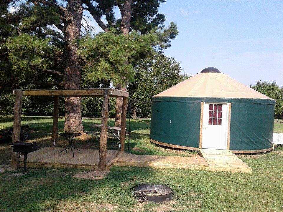 Discover Oklahoma State Parks Offer New Ways To Camp