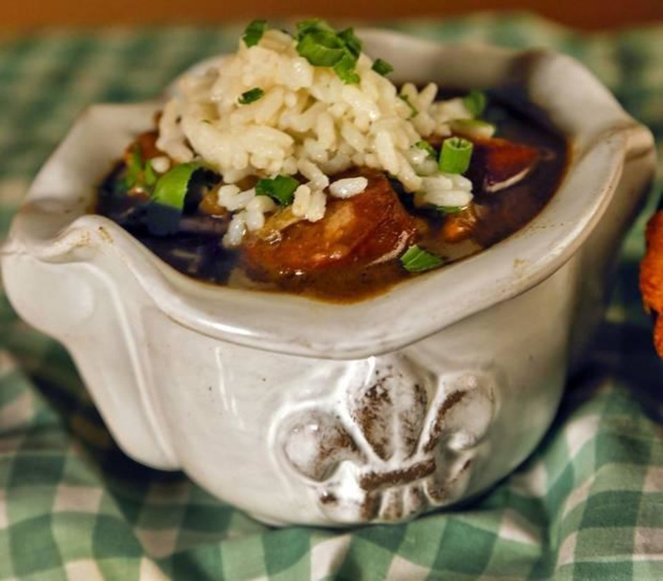 Photo -  Seafood and Sausage Gumbo.