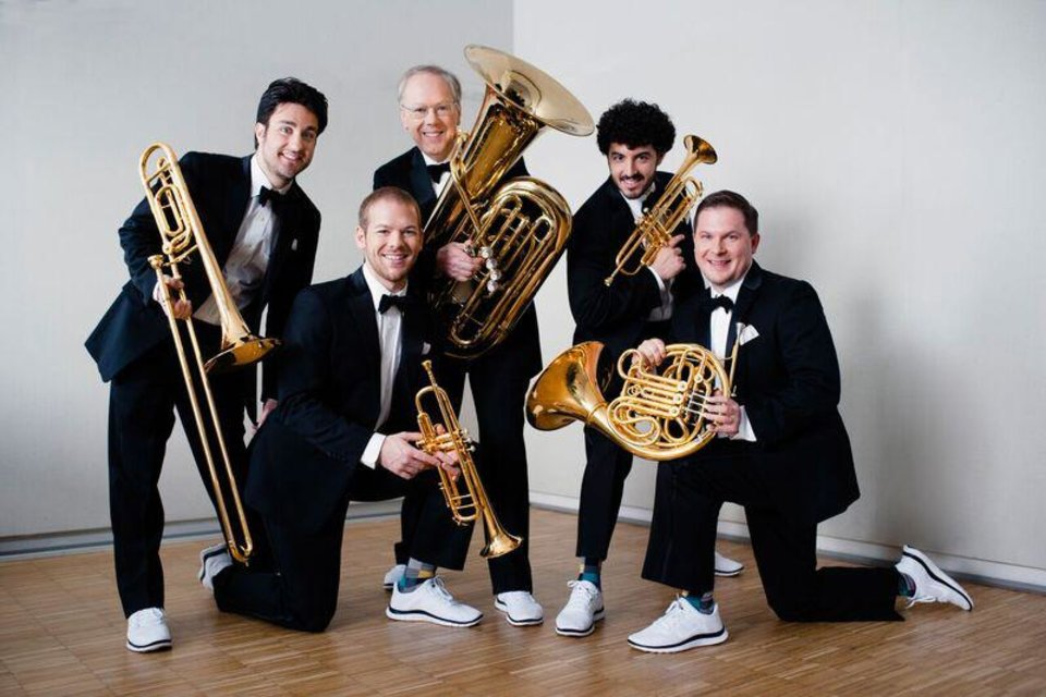 Photo - Canadian Brass. Photo provided