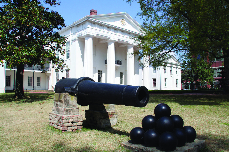 Photo - The Old Statehouse Museum was the capitol at one time. Now it houses a free museum of Arkansas politics and history. PHOTO PROVIDED.