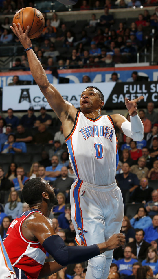 okc thunder  russell westbrook wins point guard matchup