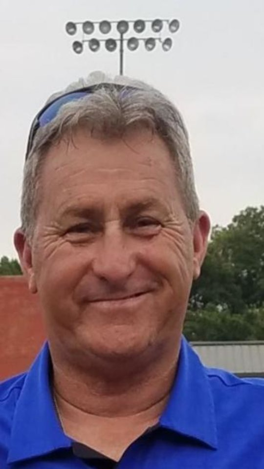 Photo -  Guthrie's Ric Meshew is The Oklahoman's All-City Boys Golf Coach of the Year. [Photo provided]