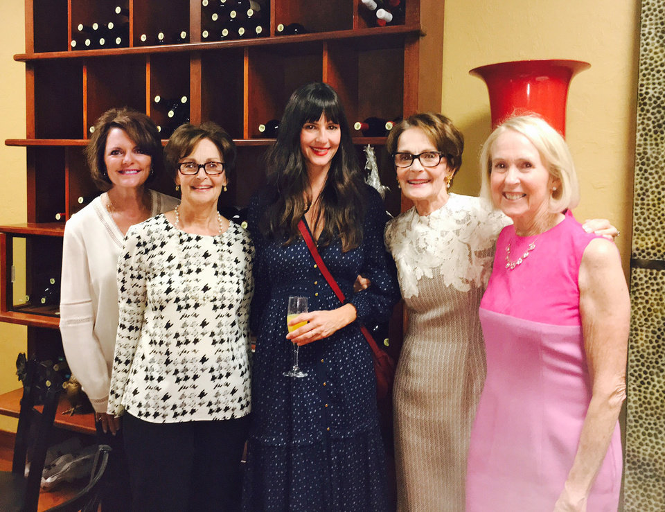 Photo - Janell Flanery, Linda James, Sarah Dorr, Susan Hoffman, Christy Everest. PHOTO PROVIDED