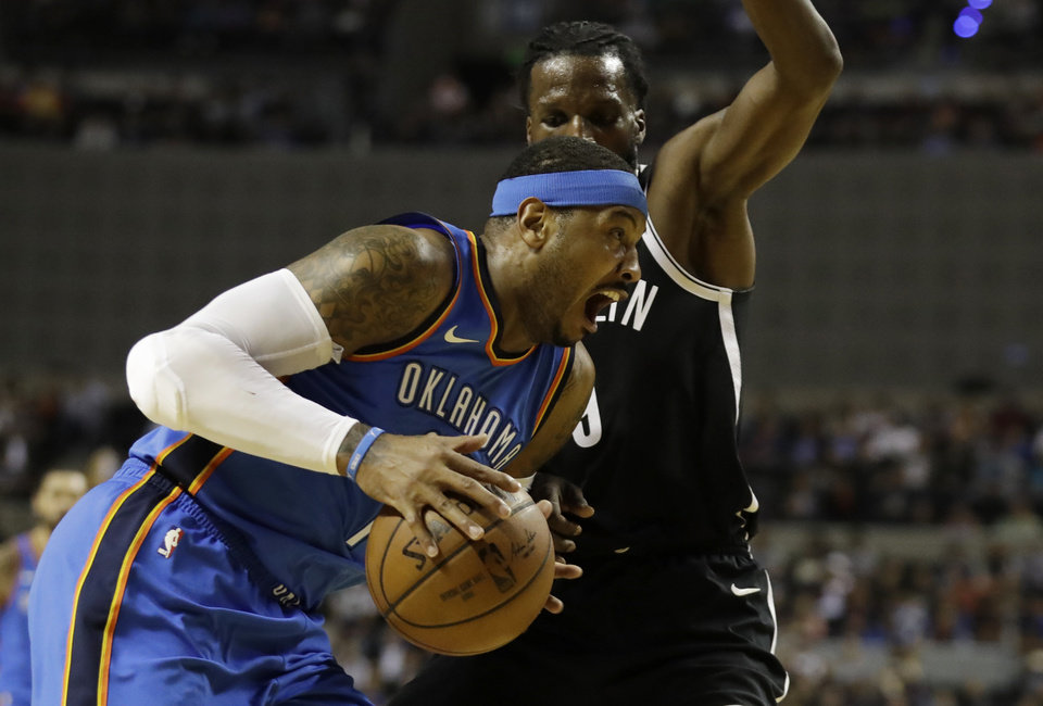 Carmelo Anthony calls shooting slump 'probably the ...