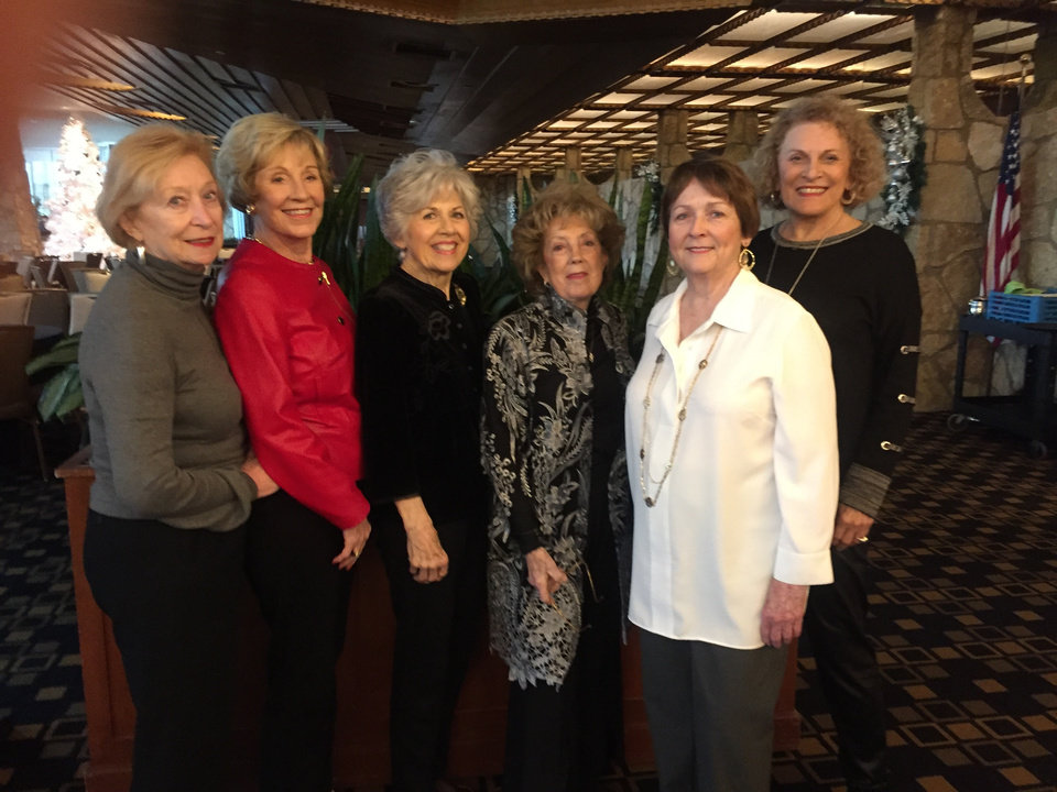 Photo -  Mary Jane Calvey, Carolyn Coffey, Barbara Lawson, Peggy Gandy, Dee Hessel and Gracie Moyers. [PHOTO PROVIDED]