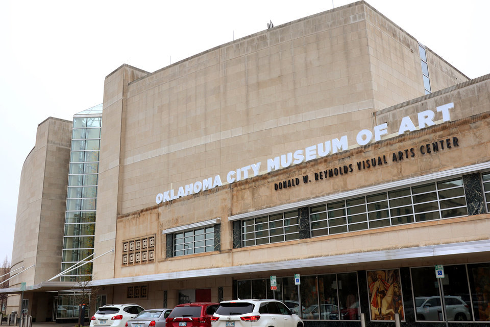Photo - Exterior view of the Oklahoma City Museum of Art, Monday, March 16, 2020.  [Photo by Doug Hoke/The Oklahoman]