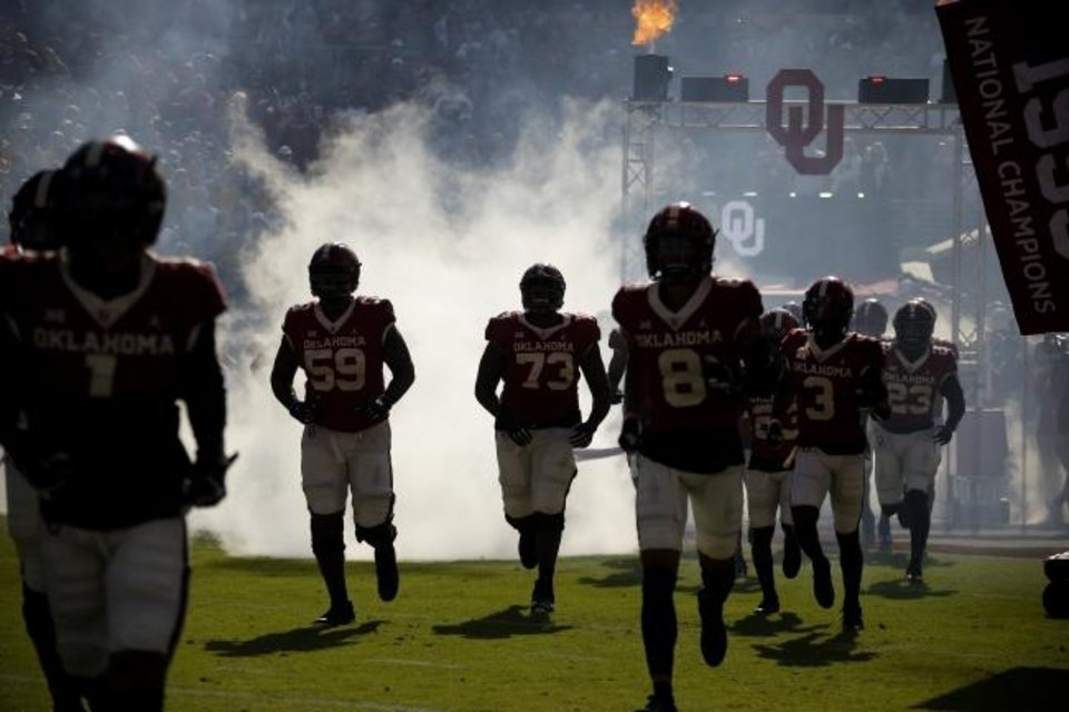 Photo -  The Sooners moved up their opener against Missouri State to Week Zero on Aug. 29. [Bryan Terry/The Oklahoman]