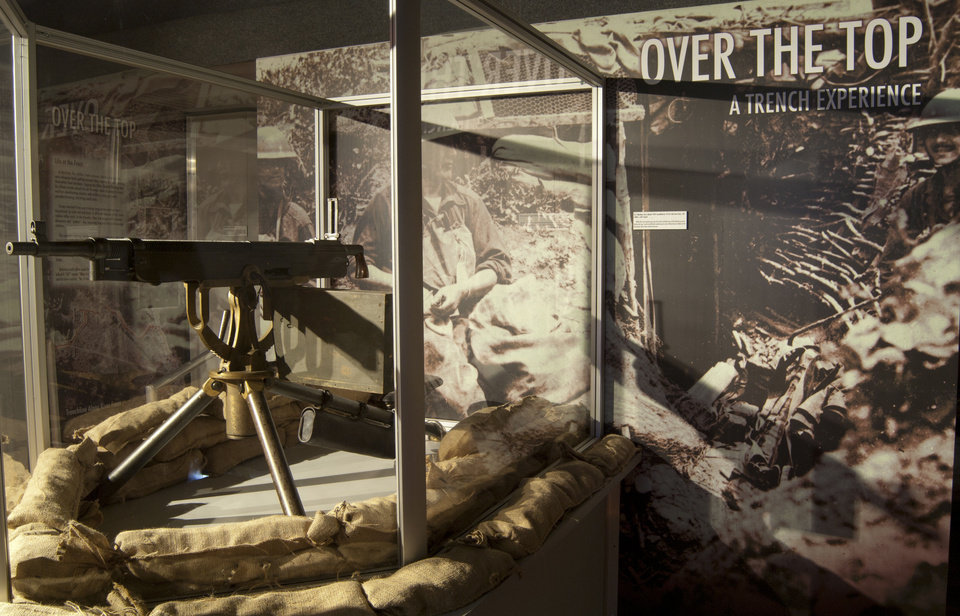 "Photo - The ""Honoring Our History Tour"" features 66 artifacts from World War I, including this machine gun. PhotoS provided"