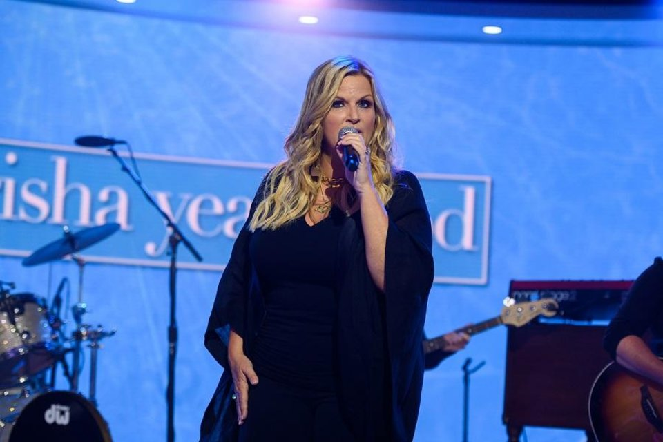 Photo - Trisha Yearwood performs Tuesday, July 9, 2019, on the