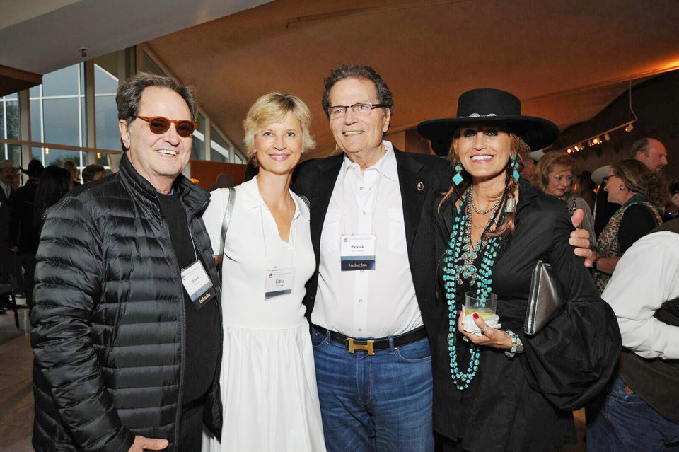 Photo - David Ladd, Edita Ladd, Patrick Wayne, Shari Cooper. PHOTO PROVIDED