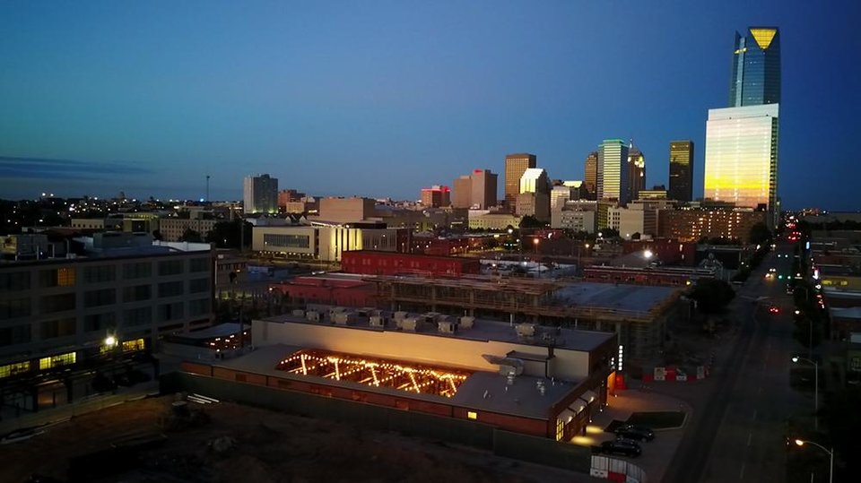 Photo -  This is a view of The Jones Assembly looking east toward downtown Oklahoma City. [Photo provided]