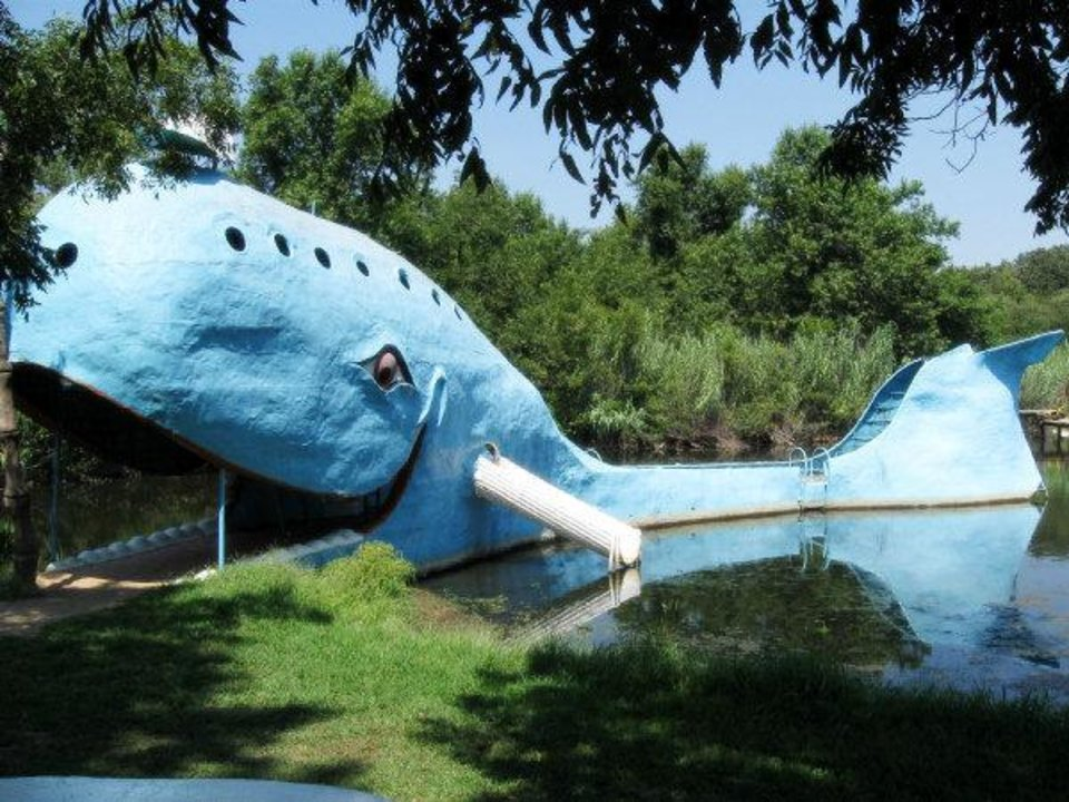 Photo - Blue Whale of Catoosa. Photo by Heather Warlick, The Oklahoman.  HEATHER WARLICK