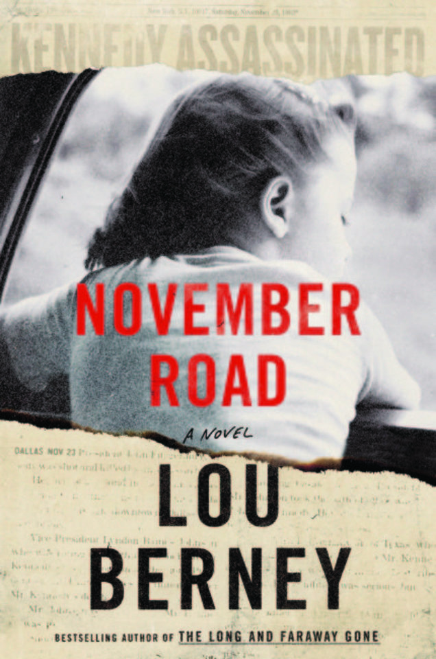 "Photo -  ""November Road,"" by Lou Berney, fiction winner"