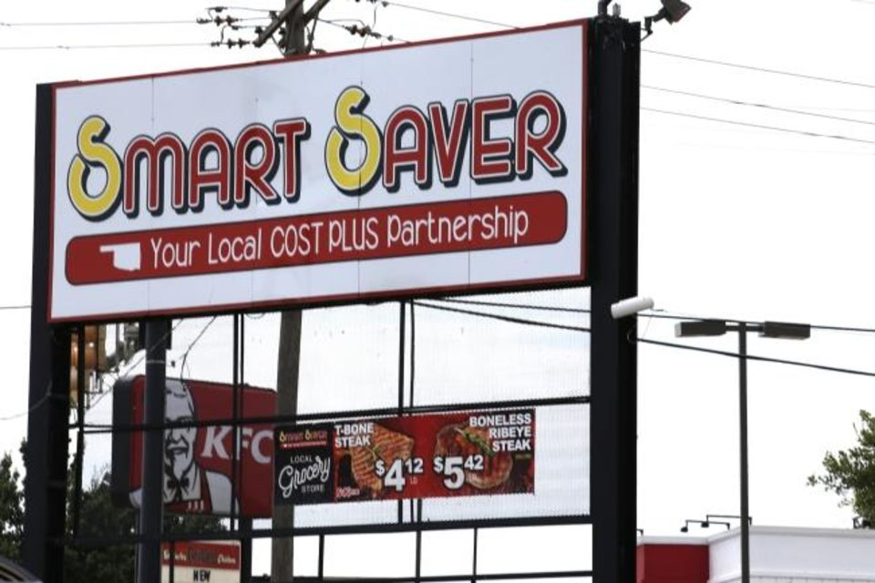 Photo -  Smart Saver is pictured at 2001 NE 23 in Oklahoma City. [Sarah Phipps/The Oklahoman]