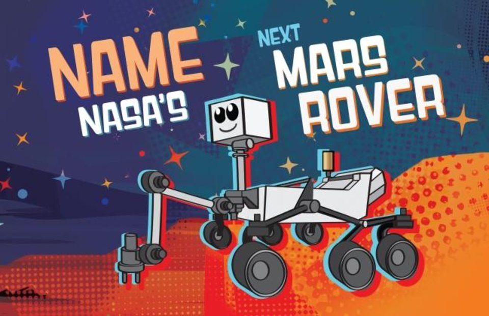Photo -  This cartoon depicts NASA's next Mars rover, which launches in 2020. [NASA/JPL-CALTECH]