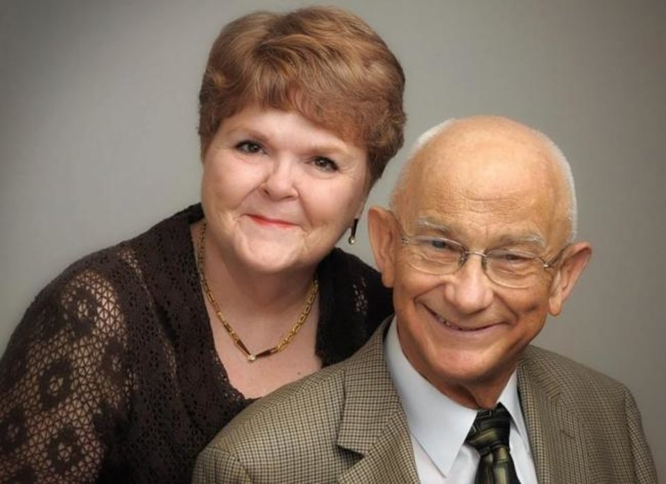 Photo -  60 years: Nancy and John McCurdy, of Edmond, were married Sept. 17, 1960, in Lone Wolf.