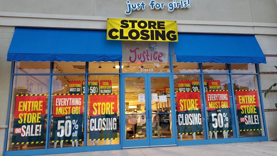 Photo - Several Justice girl's stores in Oklahoma are closing.