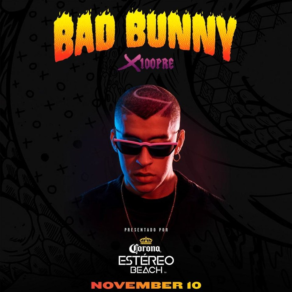 "Photo - Grammy-nominated rapper-songwriter and Latin music's ""King of Trap,"" Bad Bunny is announcing the extension of his North American"