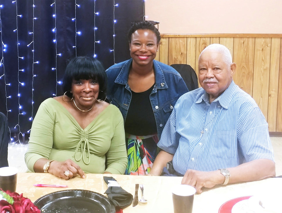 Photo -  Alice Peoples, Councilwoman Nikki Nice, Pastor John Peoples. PHOTO PROVIDED