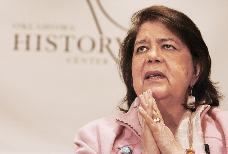 Photo - Wilma Mankiller in 2007