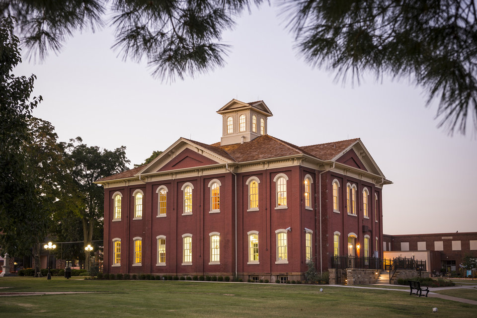 Photo -  The 1869 Cherokee National Capitol in Tahlequah. [PHOTO PROVIDED BY CHEROKEE NATION]