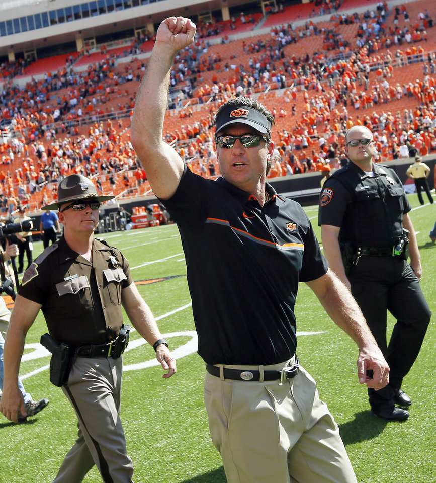 LEGACY BORN: Mike Gundy's high school commitment to ...
