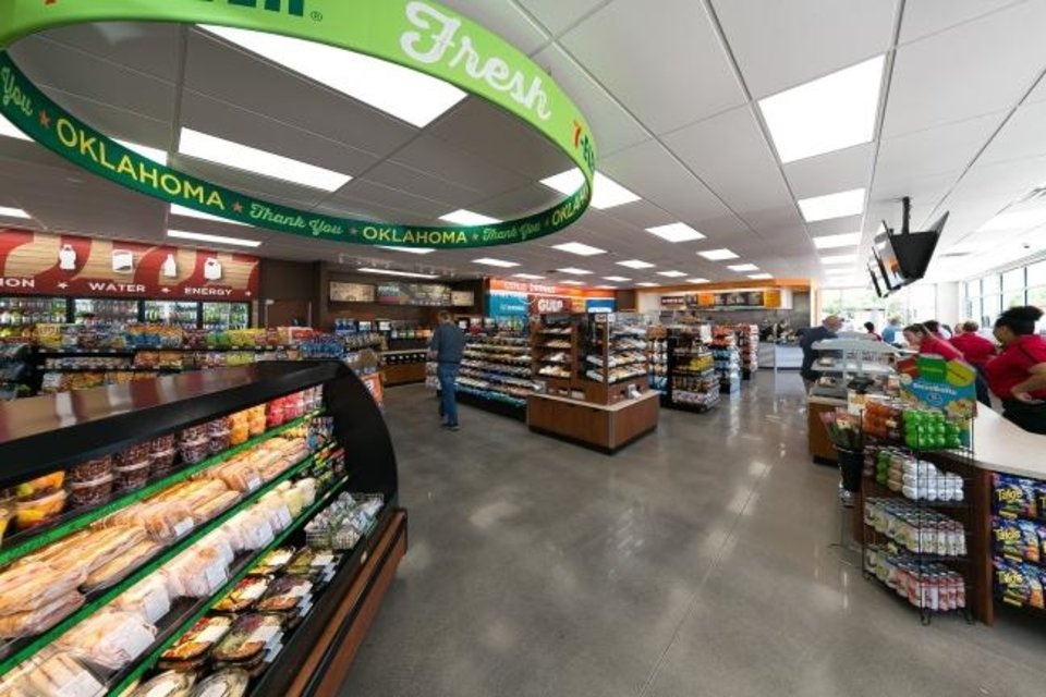 Photo -  The latest operations built by 7-Eleven Stores in central Oklahoma offer customers enhanced shopping options. On Friday, 7-Eleven Inc. announced it has reached agreement to acquire 7-Eleven Stores for an undisclosed amount. [PROVIDED]