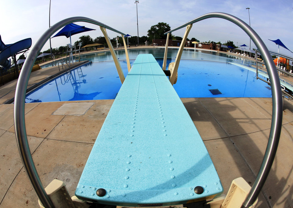 Metro area pools water parks are getting ready to open - Regional park swimming pool midwest city ok ...