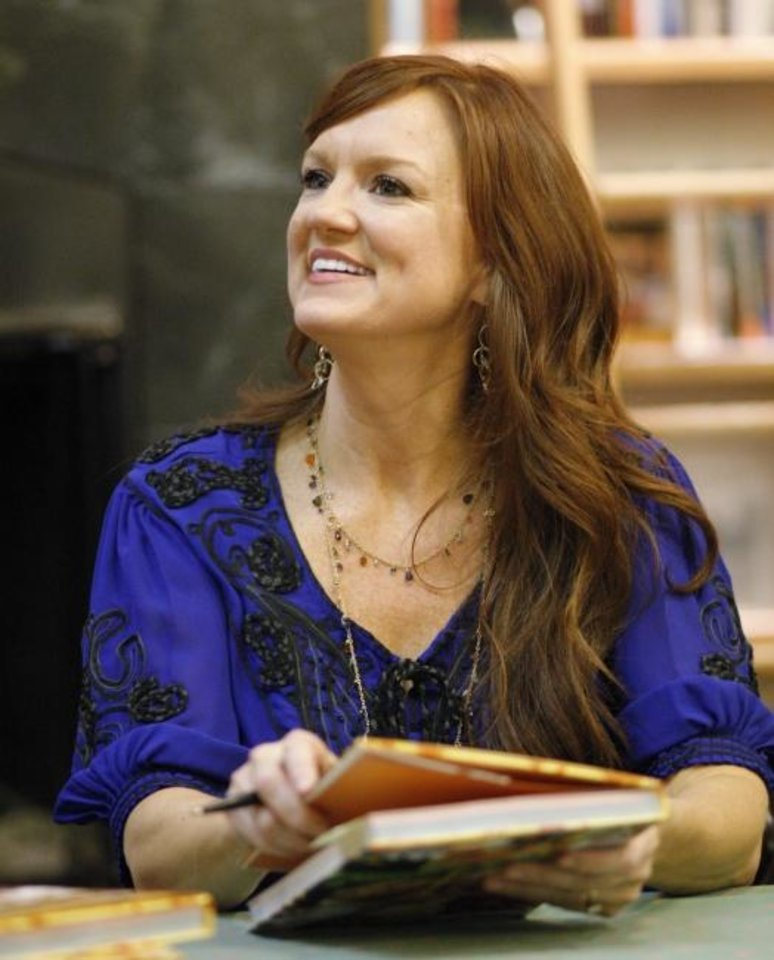 Photo -  Ree Drummond, The Pioneer Woman, became a television star in the 2010s. [Dave Cathey/The Oklahoman]