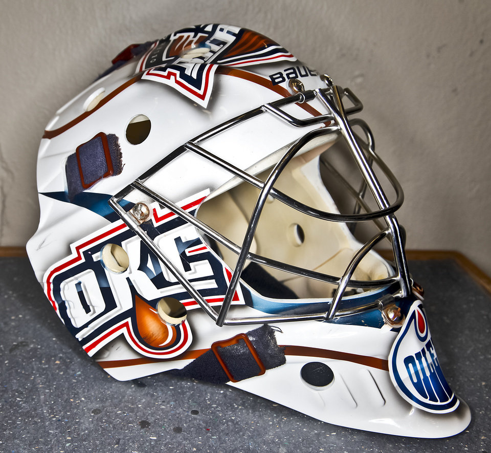 OKC Barons: For goalies, a mask is for more than saving face