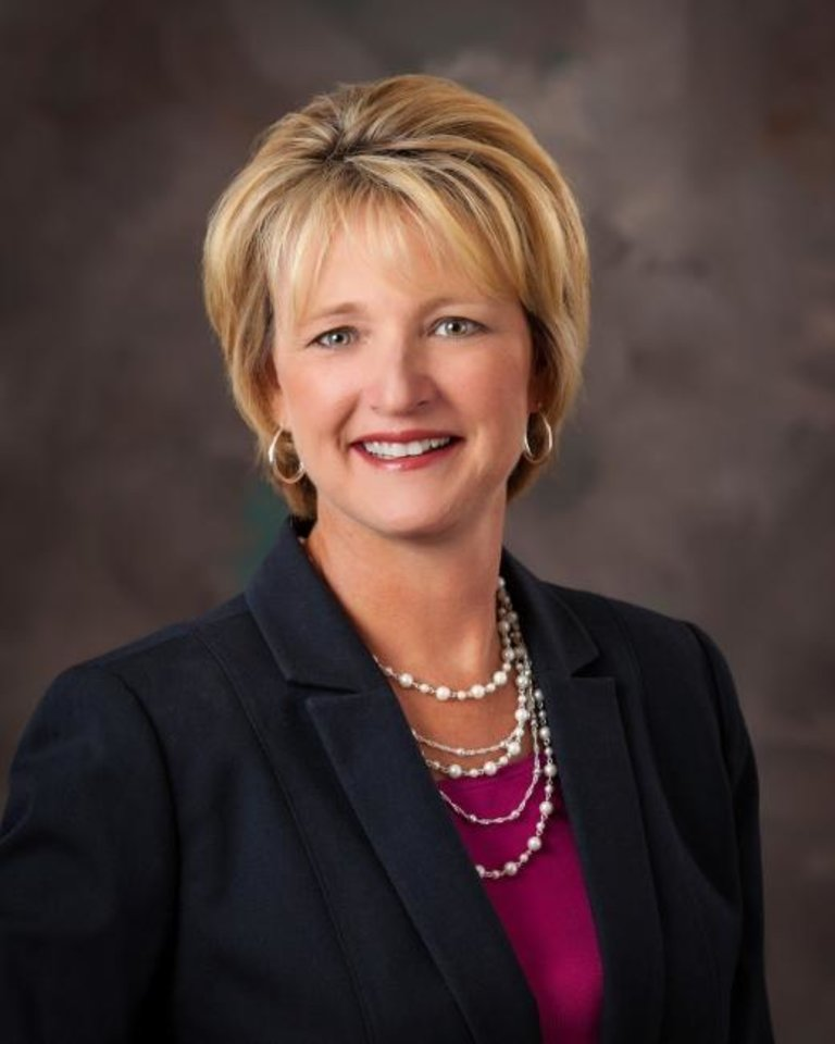 Photo -  Krista Roberts is CEO of St. Mary's Regional Medical Center in Enid. [PROVIDED]