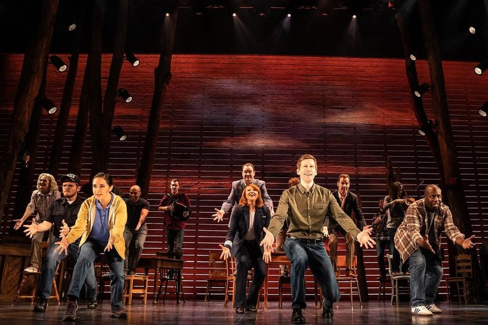 Photo - The North American tour cast of