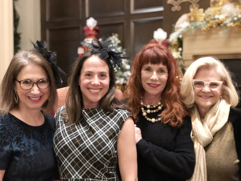 Photo - Vicki Shadid, Lauren Brollier, Julee Coyle, Marsha See. PHOTO BY SUSAN HOFFMAN