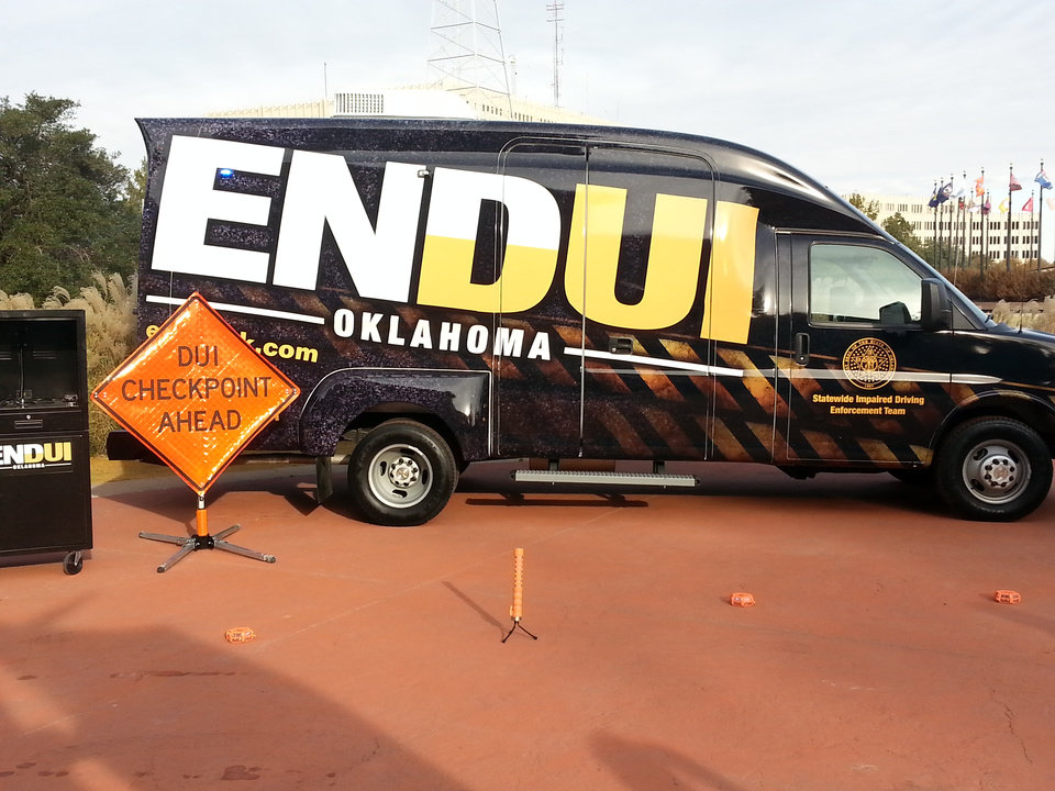 Photo - The ENDUI van visits the community with helpful information and resources.
