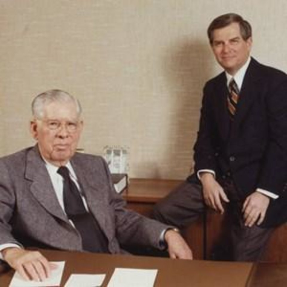 Photo - Founders C.W. and C.B. Cameron