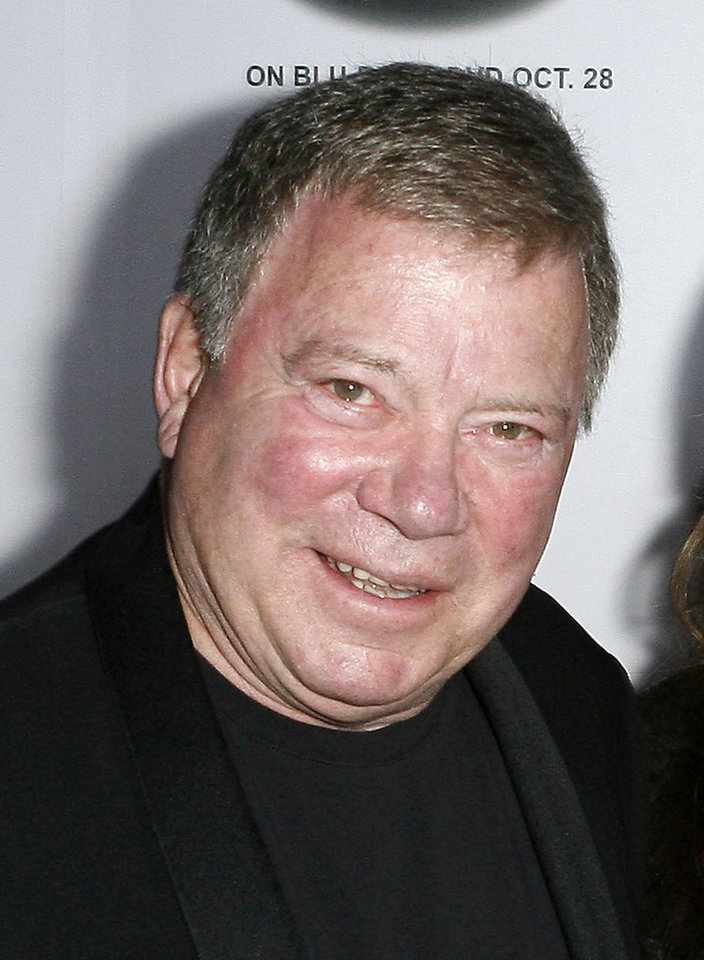 Photo - FILE - In this Oct. 11, 2008 file photo, actor William Shatner arrives at the 5th annual St. Jude Children's Research Hospital Runway for Life benefit in Beverly Hills, Calif. Shatner was nominated for and Emmy award for best supporting actor in a drama series for his role in