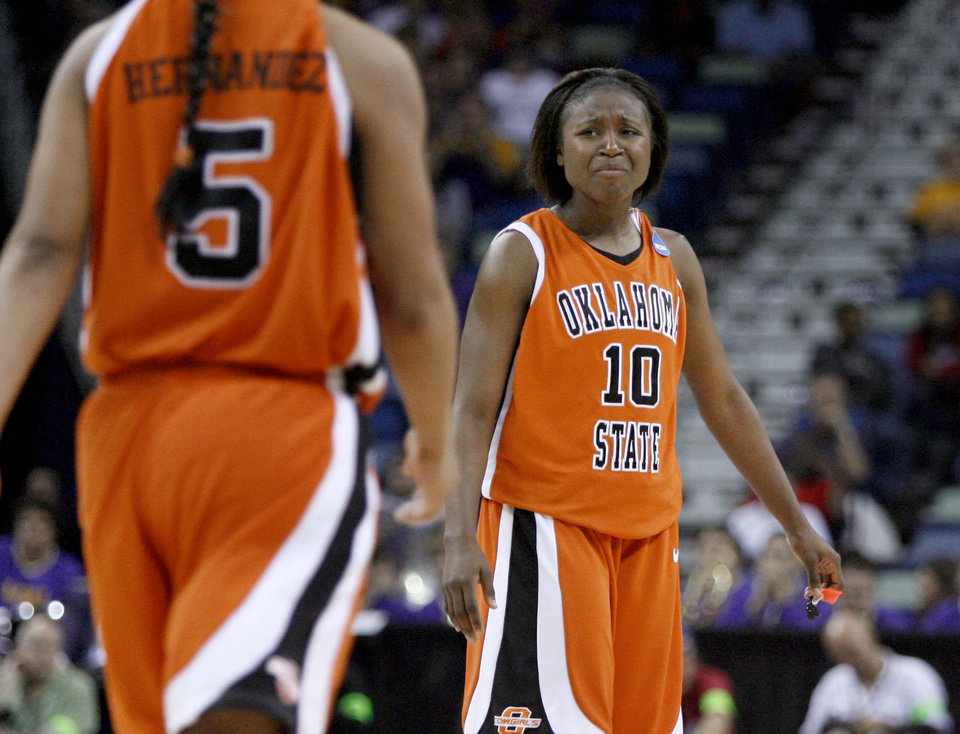 NCAA hits back, suspends Cowgirls' Riley for a game | News OK