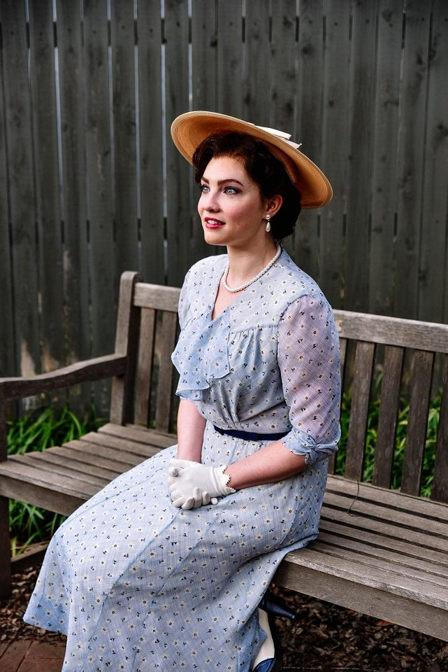 Photo - Bligh Voth plays Alice Murphy in Lyric Theatre's Oklahoma professional premiere production of