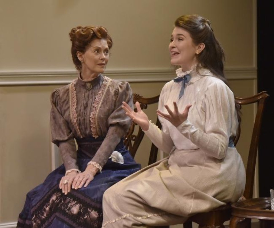 Photo -  From left, Stacey Logan stars as Nora and Avery Carlson as Emmy in Oklahoma City Repertory Theatre's state premiere production of