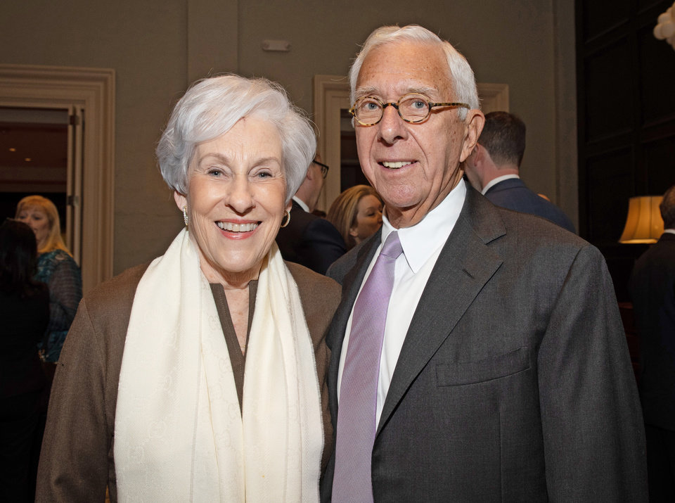 Photo - Nancy Ellis, Ronald Rosenfeld. PHOTO PROVIDED