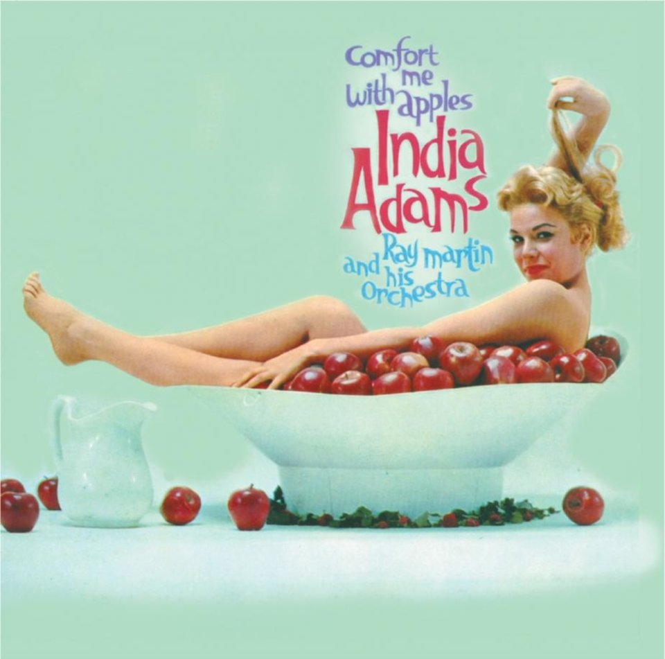 Photo -  India Adams on the cover of her first album,