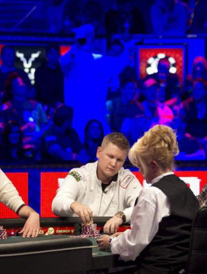 Photo - Ben Lamb at the World Series of Poker.  Courtesy WSOP.  Jonathan_Boncek